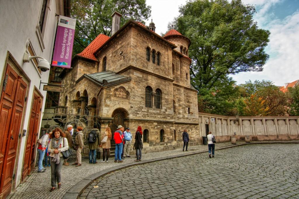 Еврейская синагога в Праге