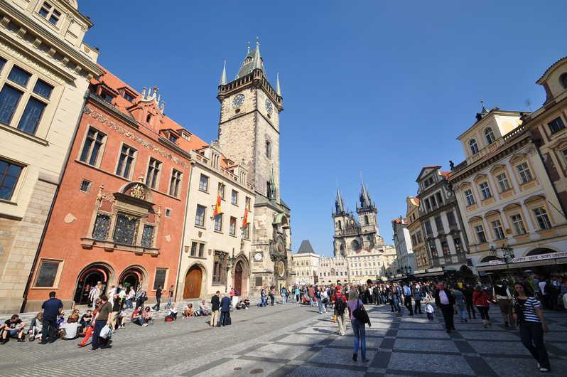 Старое место в Праге