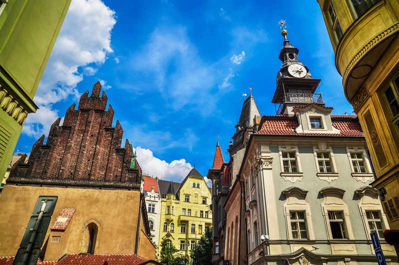 Здание в еврейском квартале Праги