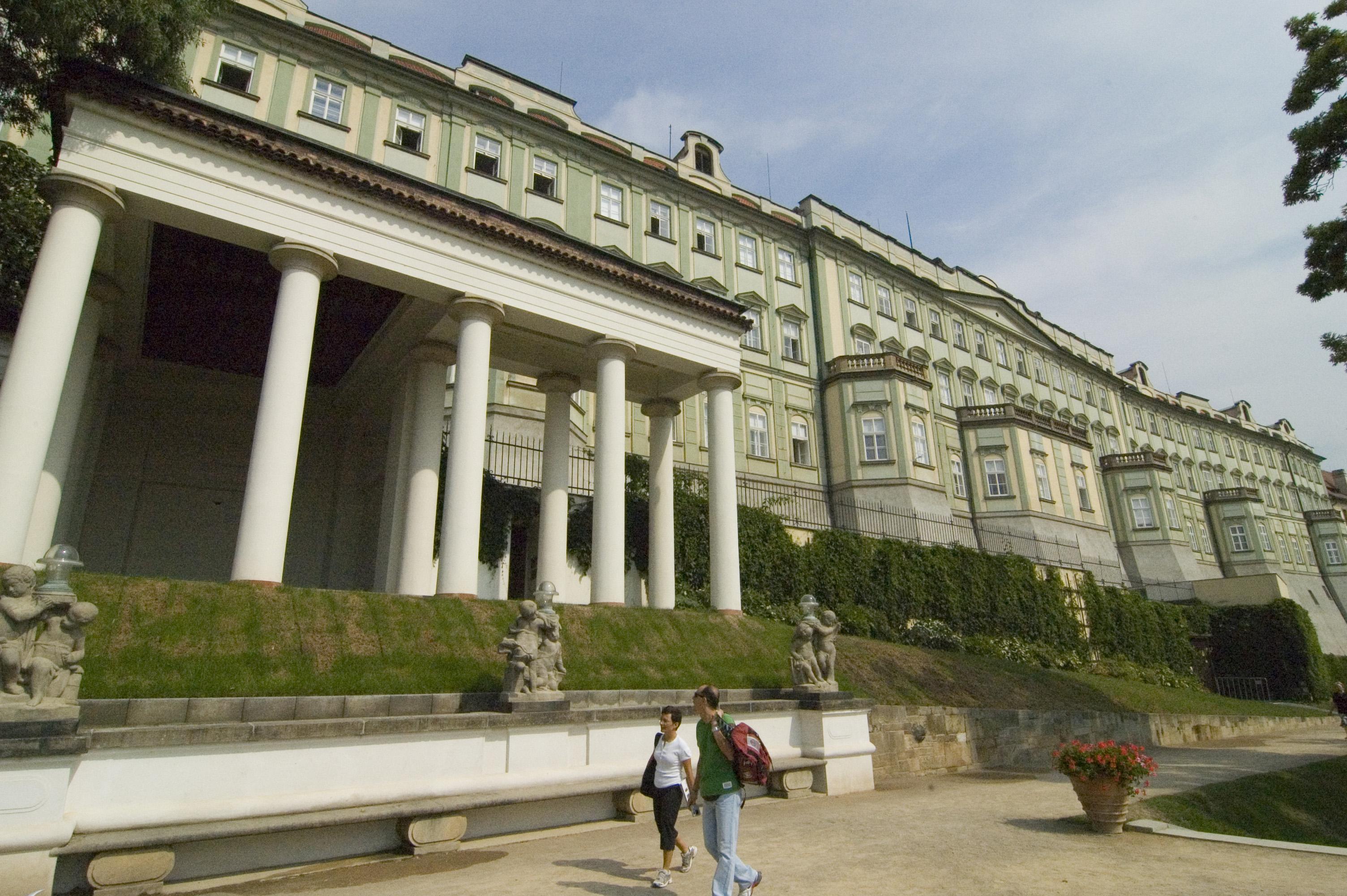 Дворец Благородных Девиц в Праге